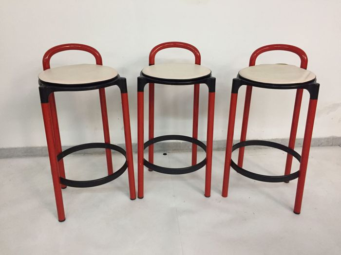 Anna castelli ferreri for kartell three stools model: polo catawiki
