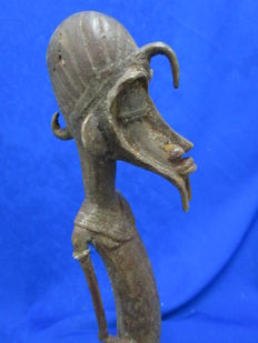 Statuary in bronze - SENOUFO - Ivory Coast
