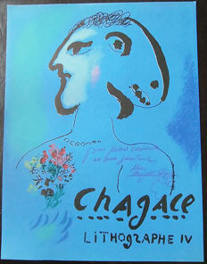 Marc Chagall - Lithograph belonging to Lithographe IV