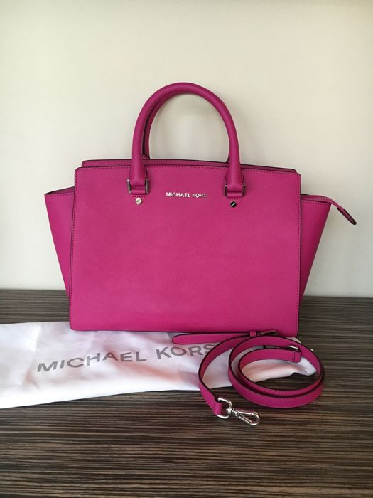 exclusive shoes new varieties clients first Michael Kors handbag/shoulder bag - Selma, large - Catawiki