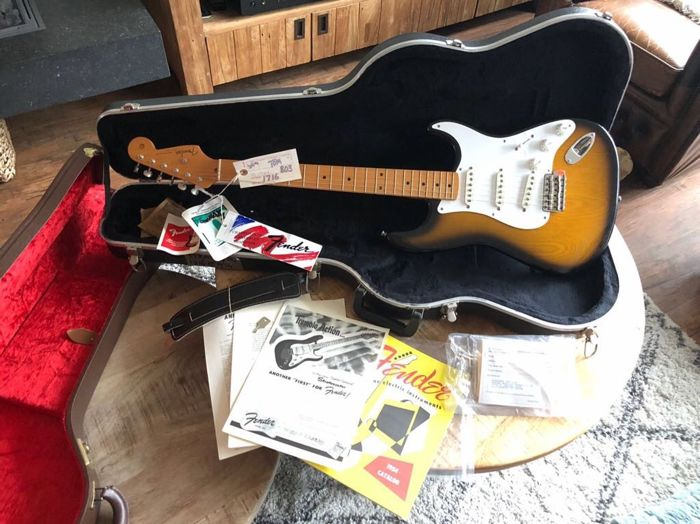 Fender Stratocaster 40th Anniversary Limited Edition 1954 - USA - 1994