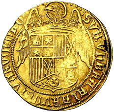 Spain - Catholic Monarch, 1469-1504 - Double Excellent mint of Seville - Gold