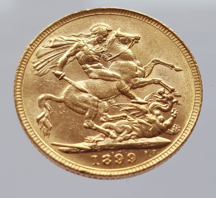 Great Britain - Sovereign 1899 - Victoria - gold