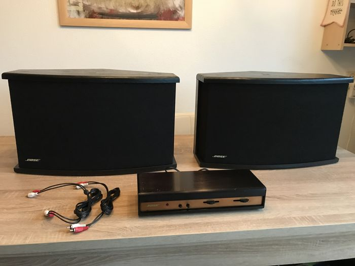 bose 901 vi direct reflecting speakers and vi active equalizer catawiki. Black Bedroom Furniture Sets. Home Design Ideas