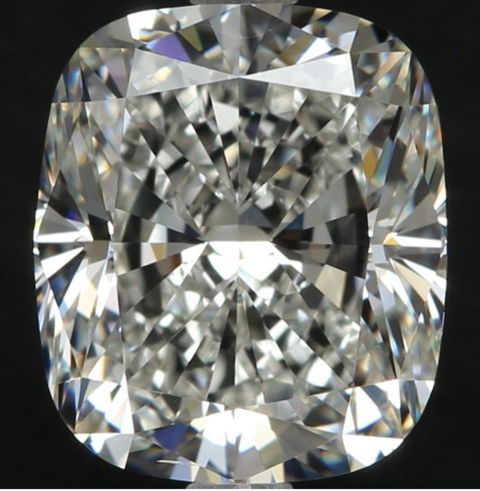 Cushion Brilliant 3.01 CT G VS2 with Egl USA   Low Reserve Price