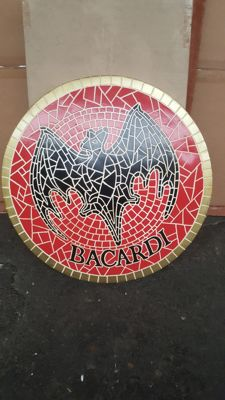 Beautiful wall decoration by Bacardi