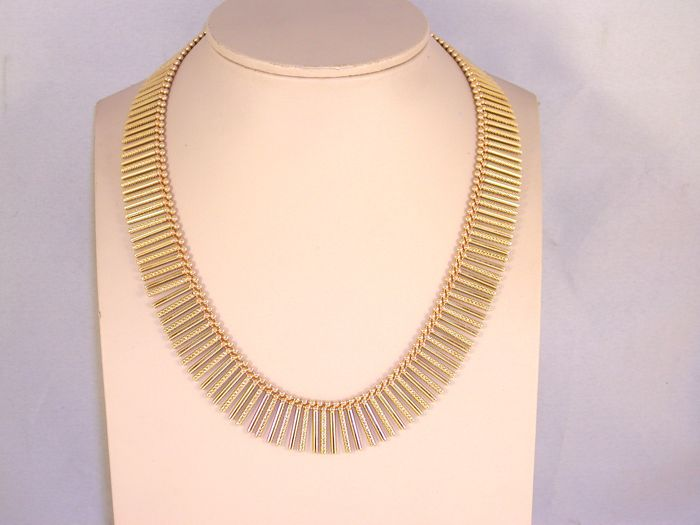 18K Gold Necklace / length 43,0 cm.