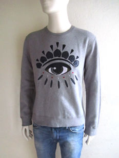 Kenzo - Eye on you Sweater - Leather crafted