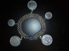 Silver bracelet dating back to 1936