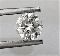 Round Brilliant Cut  - 1.04 carat  - D color  - SI1 clarity  - Natural Diamond  Comes With AIG Certificate + Laser Inscription On Girdle