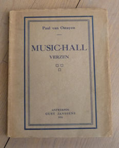 Paul Van Ostaijen - Music-Hall - 1916