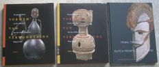 Lot with 2 books about tribal art in international collections