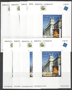 Belgium - not accepted design - released on Antwerpfila 2007- 9 x OBP no.: NA19