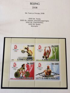 Thematic Olympic Games 1968/2008 - Collection in 3 special albums