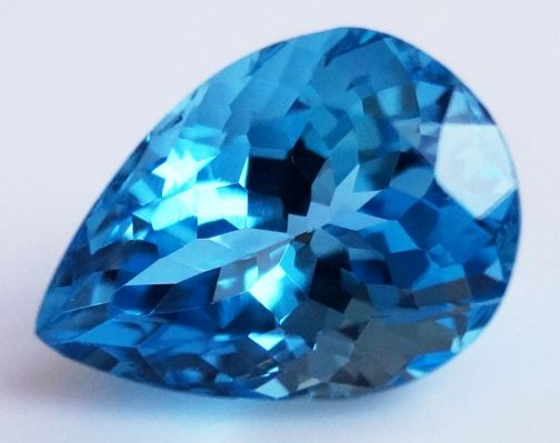 Swiss Topaz - Blue - 9.54 ct