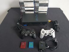 Sony Playstation 2 (PS2) with 28 games like Grand Theft Auto (GTA) with EyeToy