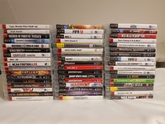 Collection of 51 Playstation 3 games