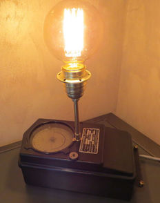 Lamp on a former electric timer