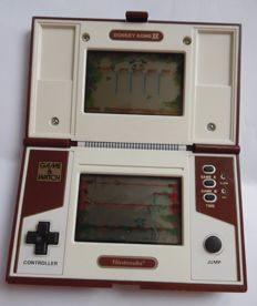 Game & watch Donkey Kong 2 + Serial number + battery cover.