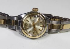 Rolex Tudor Princess Oysterdate - 18K Gold / Steel - 1970's - Ladies Wristwatch