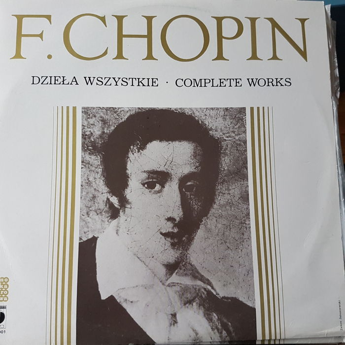 Lot with F. Chopin, 9lp collection