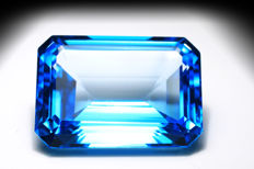 Swiss Blue Topaz – 49.59 ct