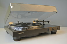 Sony PS-X 4 High End turntable (1977) quartz lock and Stanton 680II element