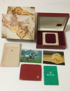 Rolex -- Original Oyster Ref.60.01.2--Clear logo and noble interior--High quality embroidery box