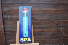 RARE enamelled advertising thermometer * SPA JEAN D'YLEN * original 1960s