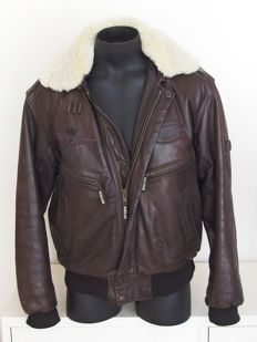 Nickelson - Leather Aviator Jacket