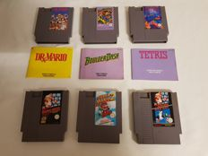 Collection of 6 Nintendo Entertainment System games!