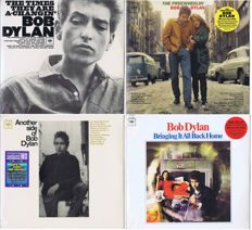 Bob Dylan - lot of 4 LP's: 1. The Freewheelin' Bob Dylan (1963) | 2. Another Side Of Bob Dylan (1964) | The Times They Are A-Changin' (1964), Bringing It All Back Home (1965)