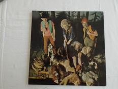 Jethro Tull ‎– This Was - Wide Spine Mono Black & Orange  First Pressing