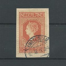 The Netherlands 1913 - Independence - NVPH 101 on letter