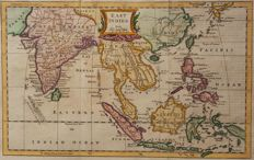 India, Malaysia, Indonesia; William Guthrie / Thomas Kitchin - East Indies. - 1770