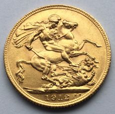 Great Britain - Sovereign 1912 George V – gold