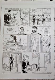 Simon, Fred - Planche originale (p.41) - Mermaid Project - T2