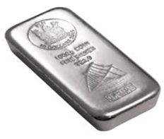 Fiji: 1000 g Silver Bar, Heraeus, 2015, Coin Bar, Sailboat Motif, New and Sealed, with Certificate