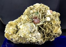 DT & Undamaged Pink Apatite with Green Fluorite and Muscovite Mica Specimen - 123 x 92 x 72 mm - 1054 gm