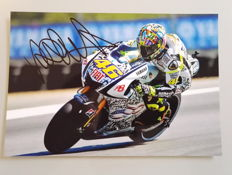 Photograph personally autographed by Valentino Rossi