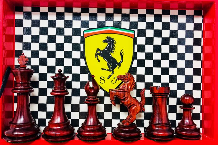 Ferrari Super Luxury Competition Chess Catawiki