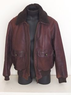 Redskins - Leather Convertible / motorcycle jacket with inner jacket