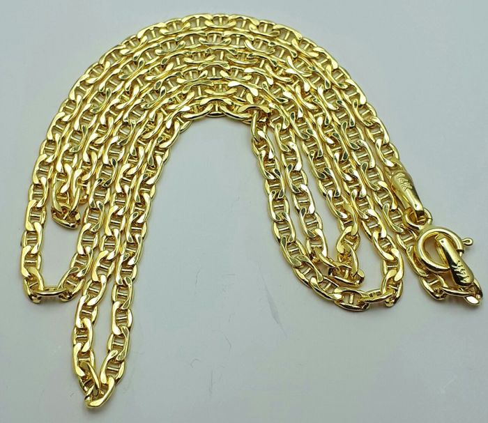 14 Ct Yellow Gold Unisex Chain, length 50cm, Total Weight 2.49g
