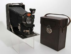 Agfa Standard 208 from 1927 with bag Restoration object