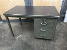 Unknown designer - Industrial desk with drawers