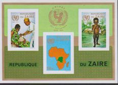 Zaire and Tanzania - 1971-1998 - collection of blocs and sheetlets