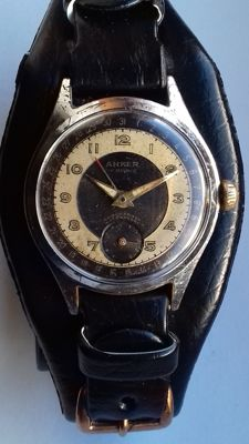 Ancre - Anker Dual Tone with circular calendar - SERVICED - Ανδρικά - 1950-1959
