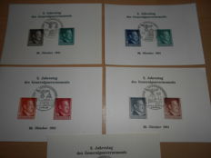 Generalgouvernement 1940-1944 - batch of letters, cards, registered mail, special (commemorative) cancellation, propaganda cancellation