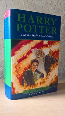 Misprint; J.K Rowling - Harry Potter and the Half-Blood Prince - 2005