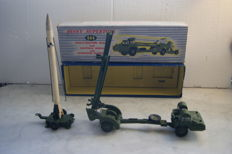 Dinky Supertoys - Scale 1/48 - Missile Erecting Vehicle with Corporal Missile and Launching Platform No.666